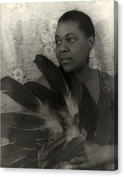 Bessie Smith, American Blues Singer Canvas Print by Everett