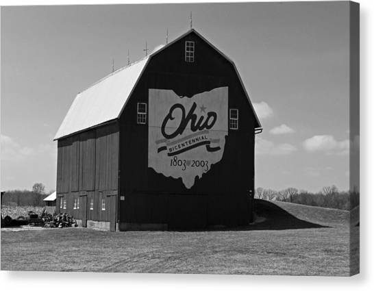 Bicentennial Barn Canvas Print