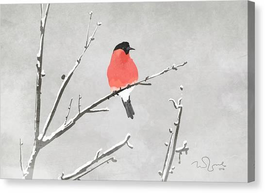 Bird Canvas Print by Penko Gelev