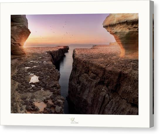 Blata Tal-melh - Salt Rock Canvas Print