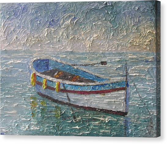Boat Of Provence  Canvas Print by Frederic Payet