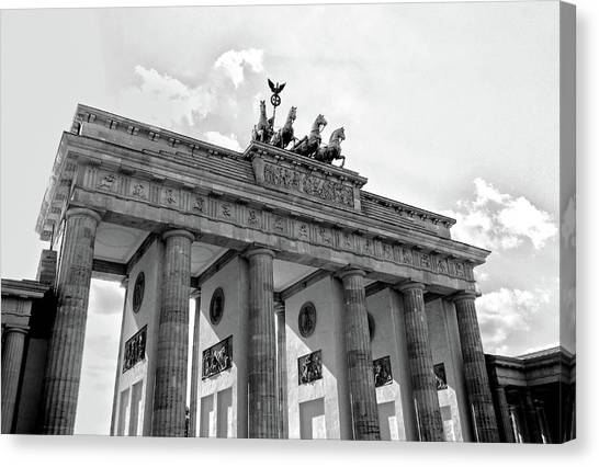 Brandenburg Gate - Berlin Canvas Print