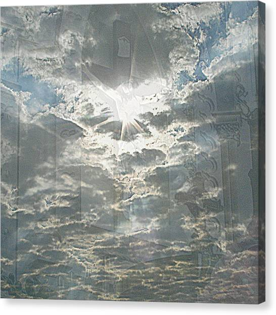Bright Morning Star Canvas Print
