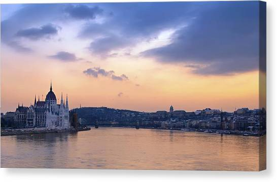 Submarine Canvas Print - Budapest by Jackie Russo