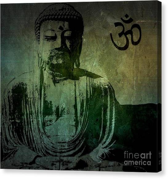 Fine Art India Canvas Print - Buddha by Michael Grubb