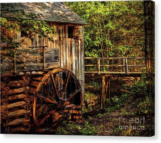 Cades Cove Mill Canvas Print