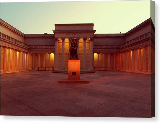 The Legion Canvas Print - California Palace Of The Legion Of Honor by Mountain Dreams
