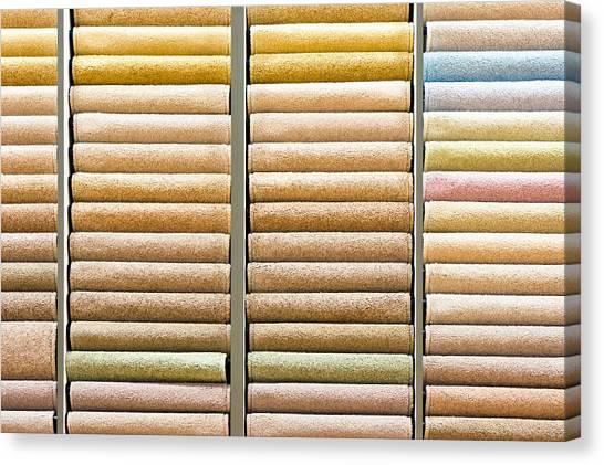 Selection Canvas Print - Carpets by Tom Gowanlock