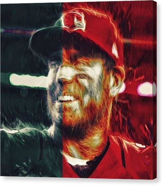 Superbowl Canvas Print - @carsonpalmer3 #carsonpalmer #cardinals by David Haskett
