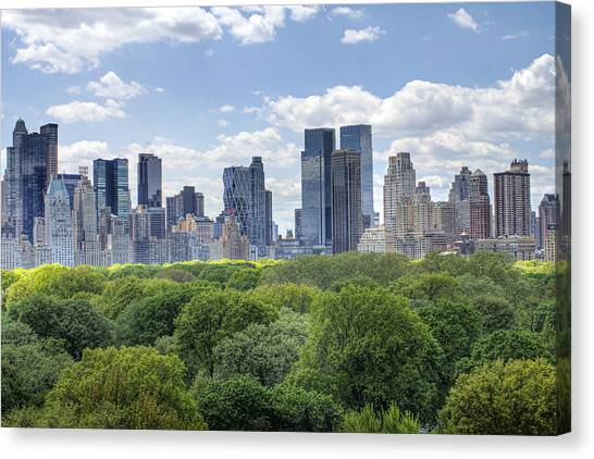 Warner Park Canvas Print - Central Park South by Ariane Moshayedi