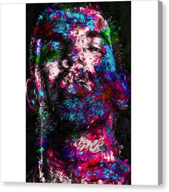 Bands Canvas Print - @champagnepapi @lilwayneofficial_ by David Haskett II