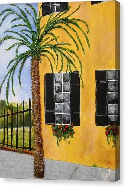 Charleston 3d Canvas Print