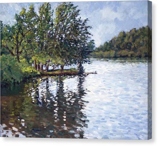 Cher-ful Lake Canvas Print