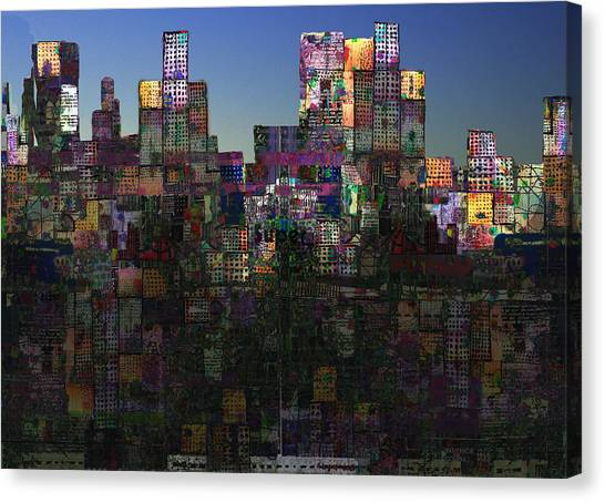 City Sunrises Canvas Print - City Sunrise  by Andy  Mercer