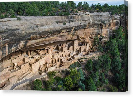Verde Canvas Print - Cliff Palace by Joseph Smith