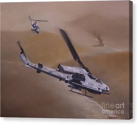 Close Air Support Canvas Print
