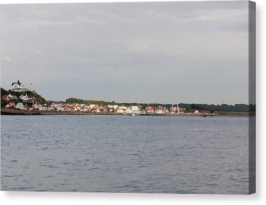 Coastline At Molle In Sweden Canvas Print