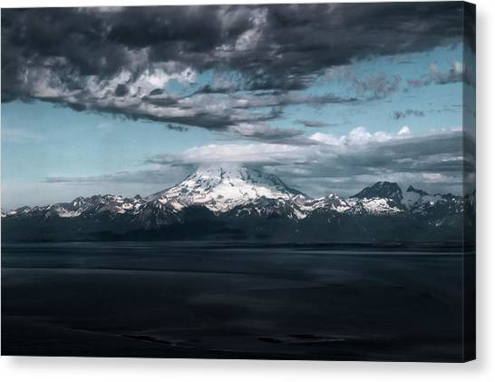 Cold Morning On The Bay Canvas Print