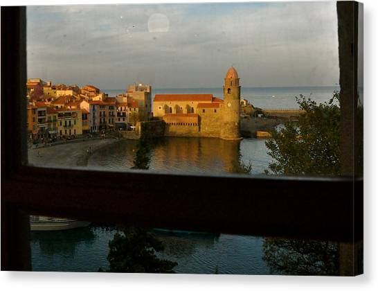 Collioure Sunset Canvas Print by K C Lynch