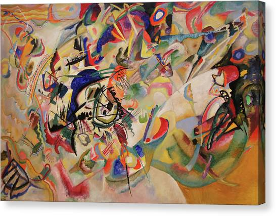 Composition Vii Canvas Print by Wassily Kandinsky