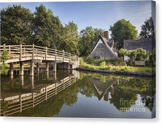 Constable Country Canvas Print by Colin and Linda McKie