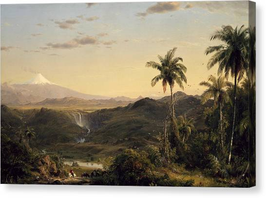 Cotopaxi Canvas Print - Cotopaxi by Frederic Edwin Church