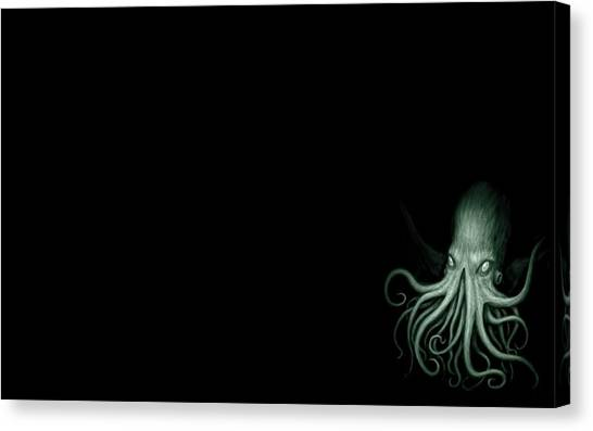 Cthulhu Canvas Print - Cthulhu by Super Lovely