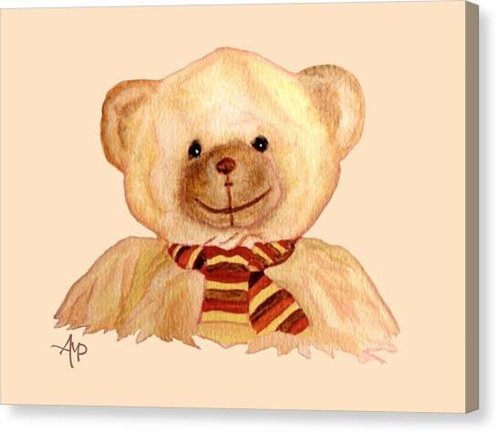 Cuddly Bear Canvas Print