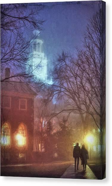 Dartmouth College Canvas Print - Dartmouth College by George Robinson