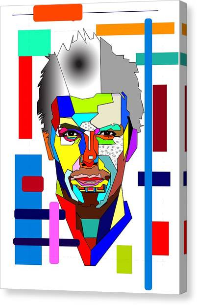 David Beckham Canvas Print - David Beckham by Bogdan Floridana Oana