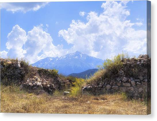 Mountain West Canvas Print - Dedegol Mountain - Turkey by Joana Kruse