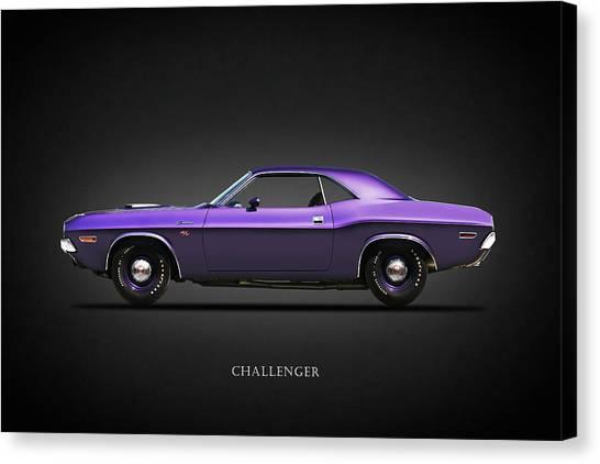 Dodge Canvas Print - Dodge Challenger by Mark Rogan