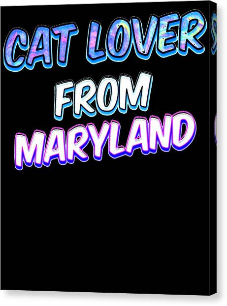Ocicats Canvas Print - Dog Lover From Maryland by Kaylin Watchorn