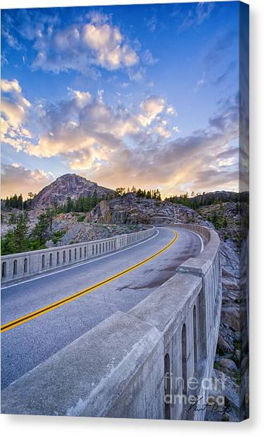 Donner Memorial Bridge Canvas Print