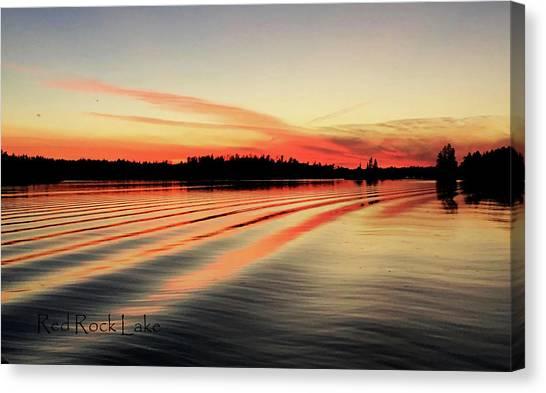 Doug Hobson, Red Rock Lake Canvas Print