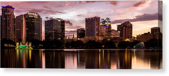 Downtown Orlando Canvas Print