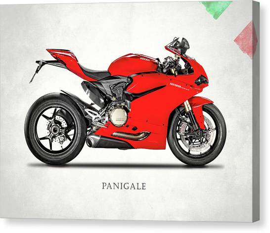 Ducati Canvas Print - Ducati Panigale 1299 by Mark Rogan