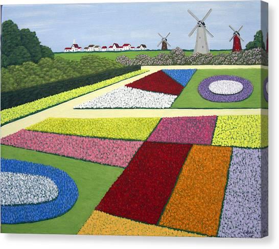 Dutch Gardens Canvas Print by Frederic Kohli