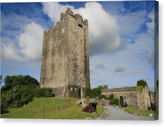 Dea Canvas Print - Dysert O Dea Castle by John Quinn
