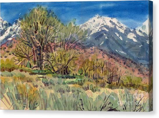 East Of The Sierra Nevadas Canvas Print
