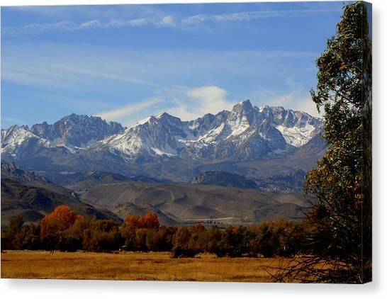 Eastern Sierras Canvas Print