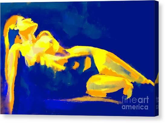 Evening Nude Canvas Print