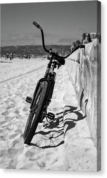Mission San Diego Canvas Print - Fat Tire by Peter Tellone