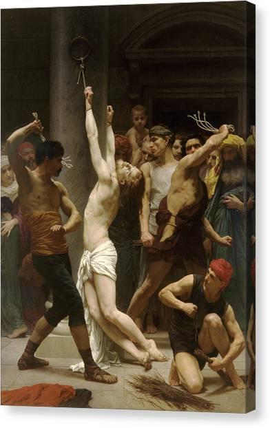Flagellation Of Christ Canvas Print