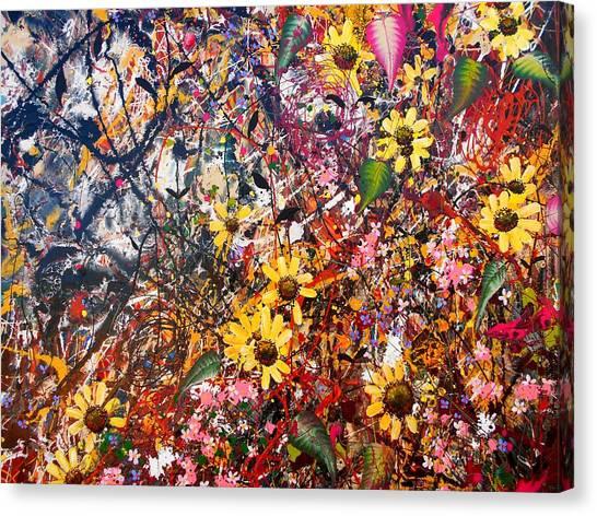 Flourish Detail Canvas Print
