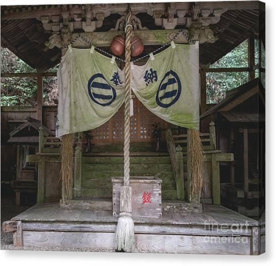 Forrest Shrine, Japan Canvas Print