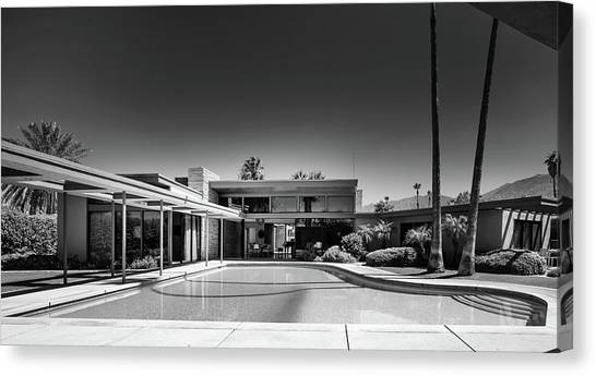 Canvas Print - Frank Sinatra's Twin Palms Estate by Mountain Dreams