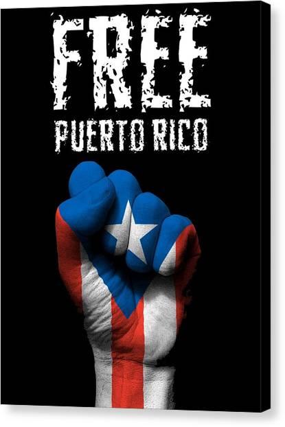Free Puerto Rico Canvas Print