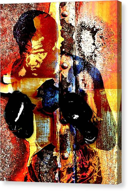 George Foreman Canvas Print - George Foreman Collection by Marvin Blaine