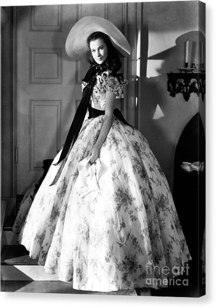 Aod Canvas Print - Gone With The Wind, 1939 by Granger